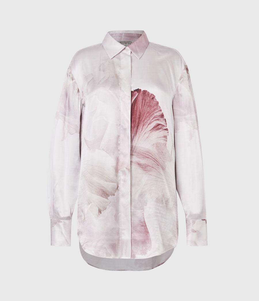 Women's Bernie Nubila Silk Blend Shirt (border_pink) - Image 2