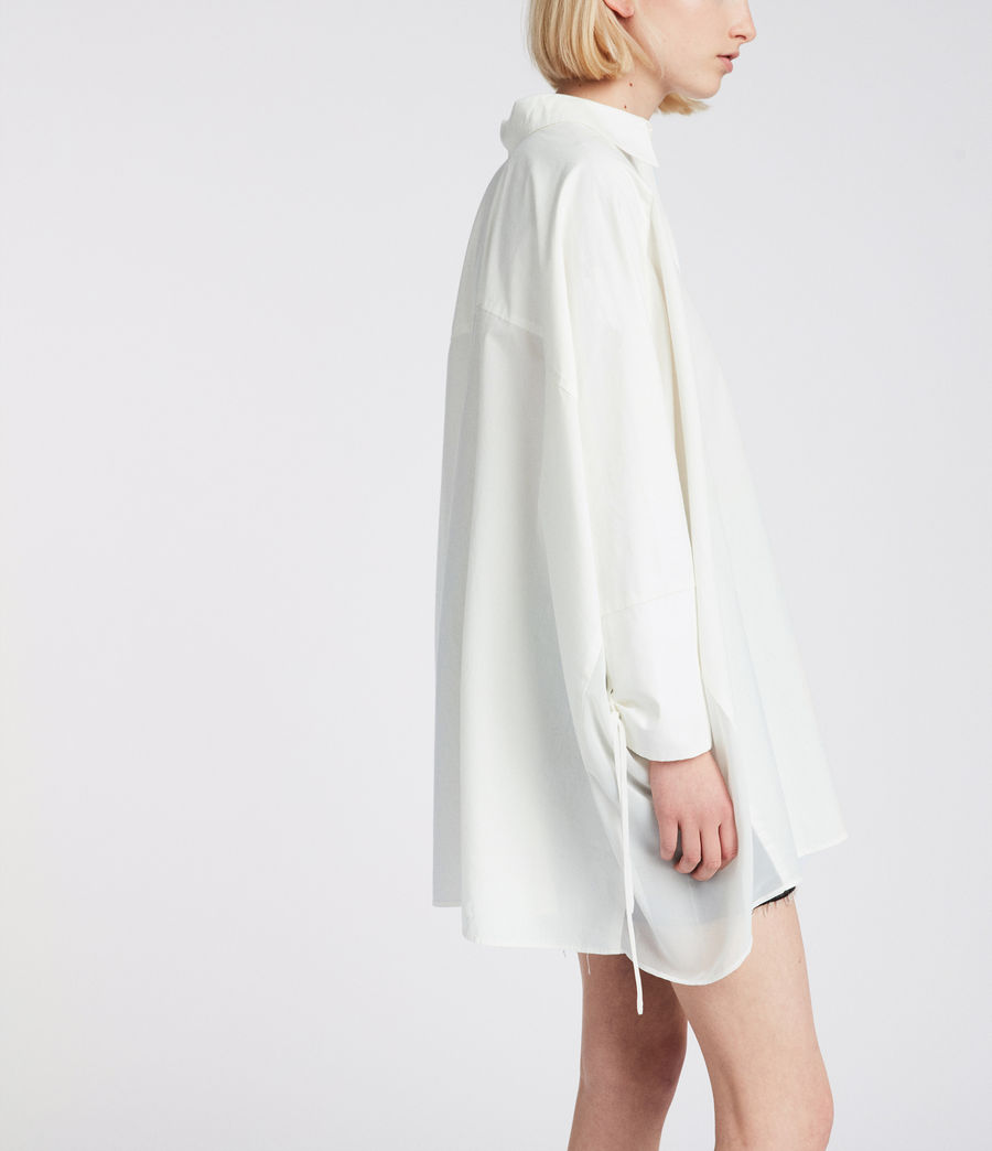 Women's Savana Shirt (chalk_white) - Image 3