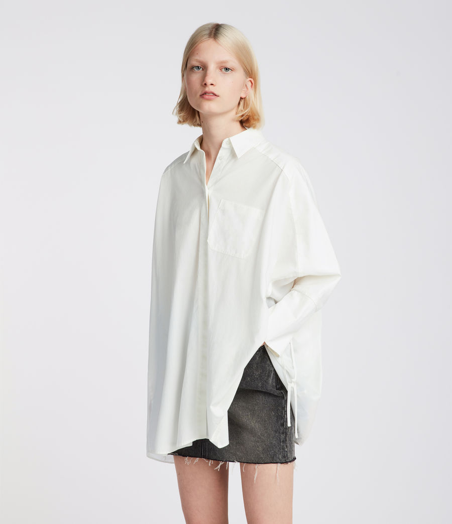 Women's Savana Shirt (chalk_white) - Image 4