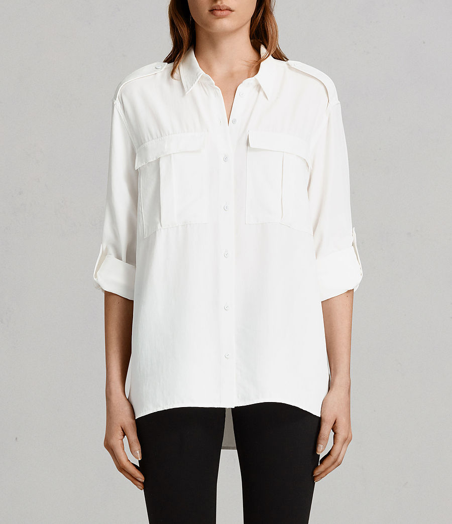 Women's Millie Shirt (chalk_white) - Image 1