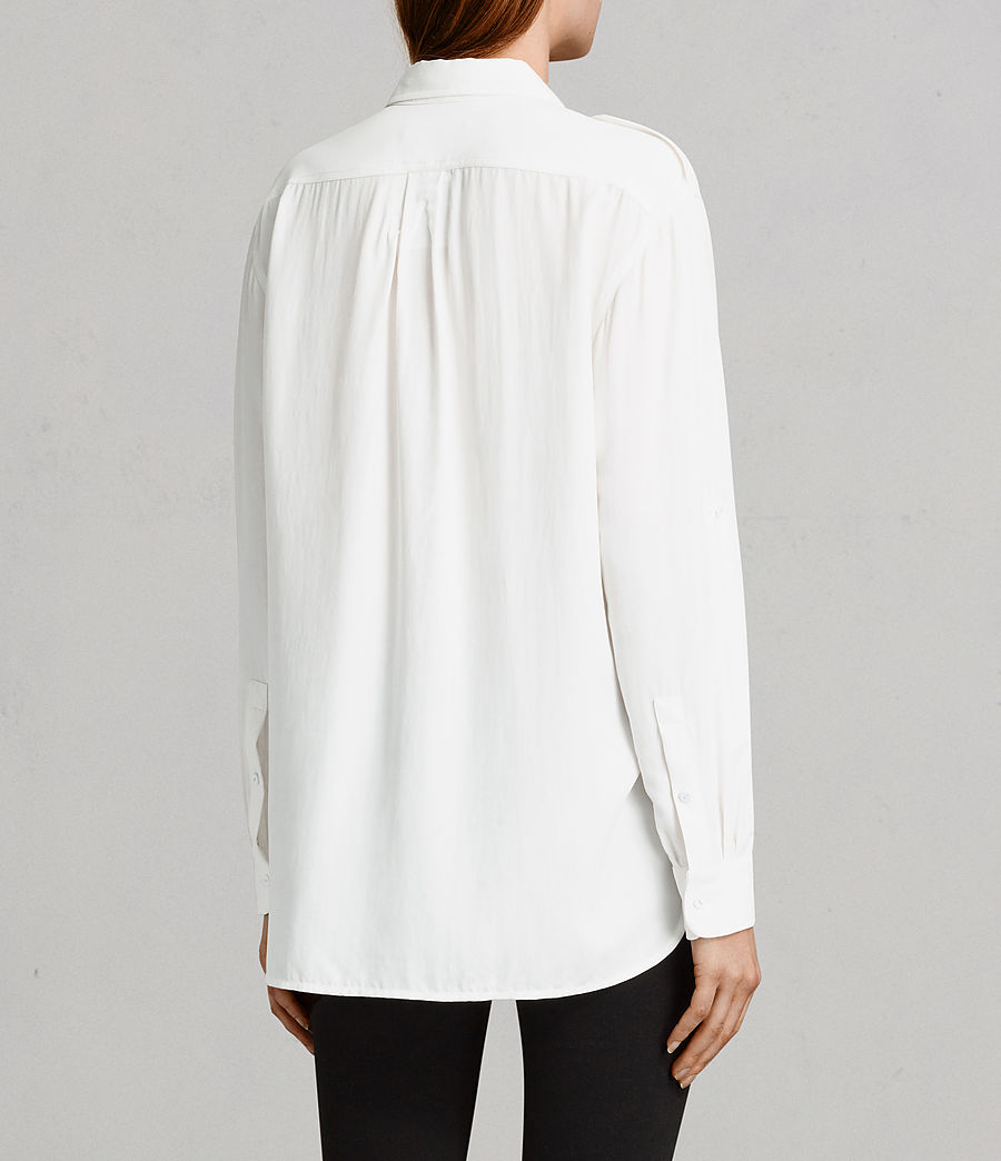 Women's Millie Shirt (chalk_white) - Image 4