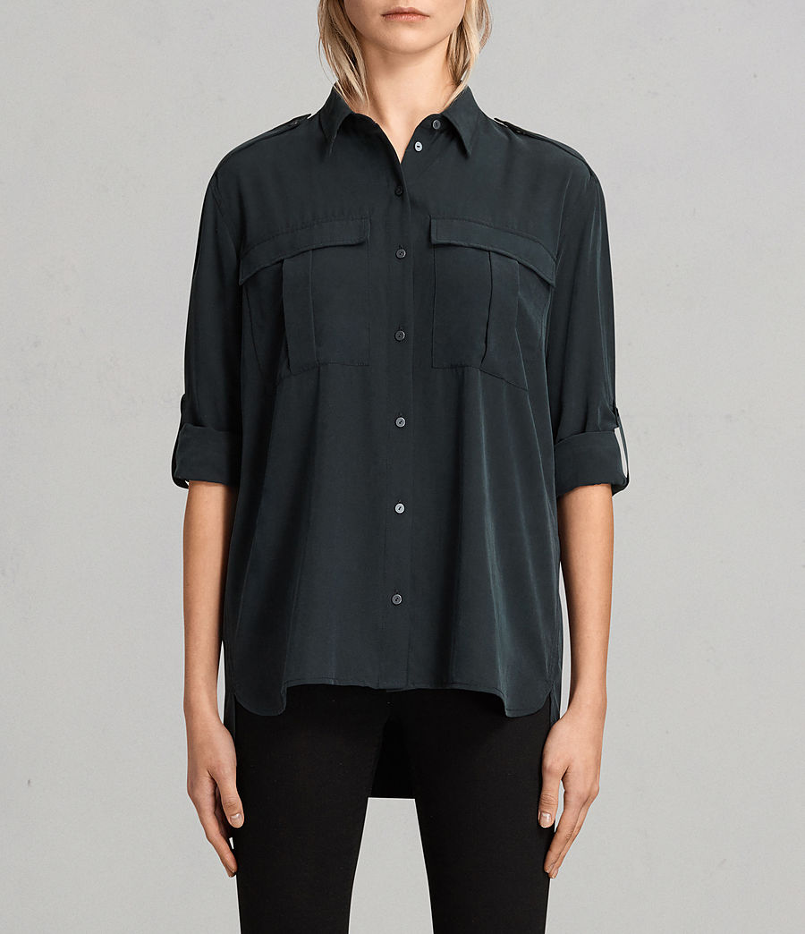 Women's Millie Shirt (black) - Image 1