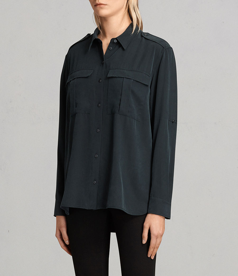 Women's Millie Shirt (black) - Image 3