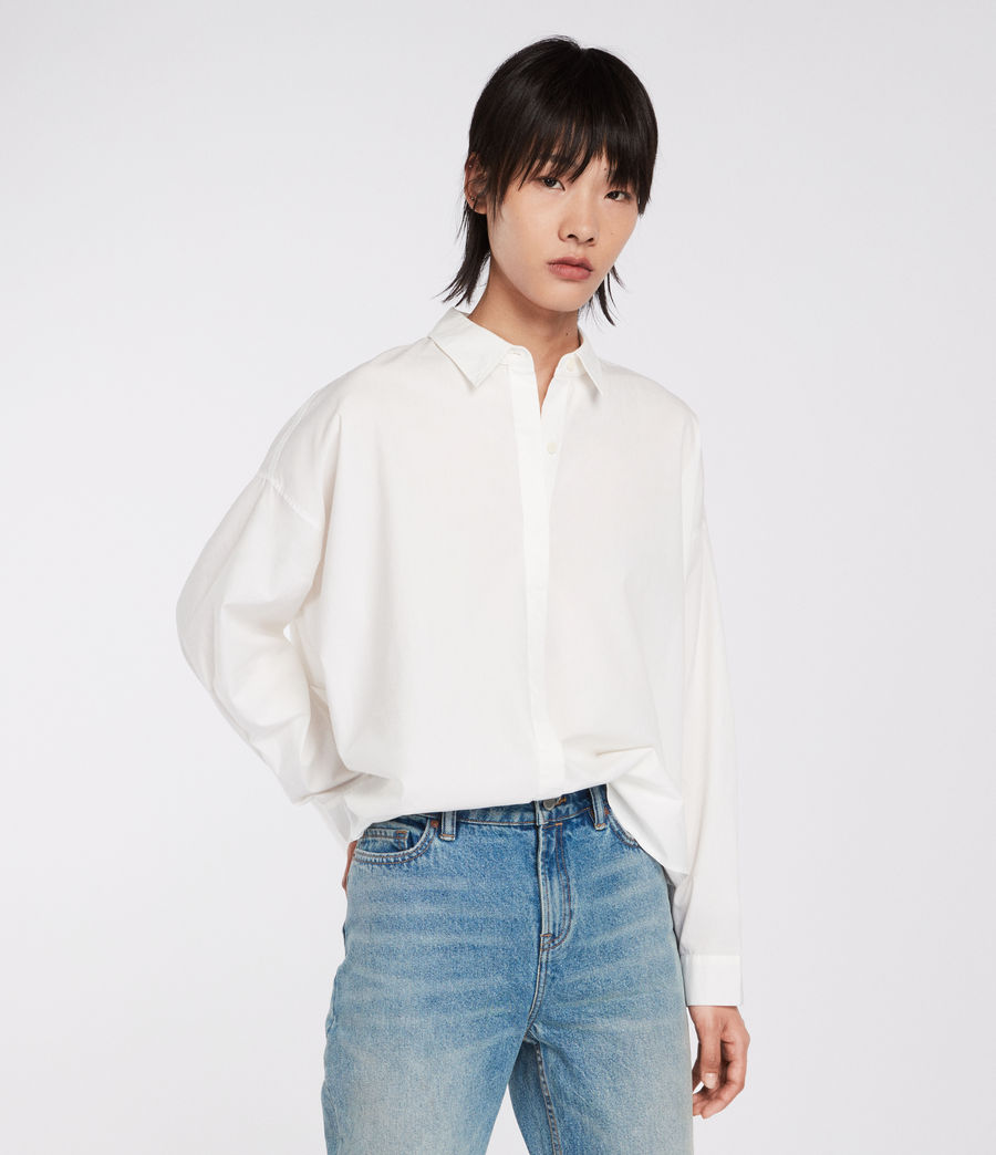 Womens Sada Shirt (chalk_white) - Image 1
