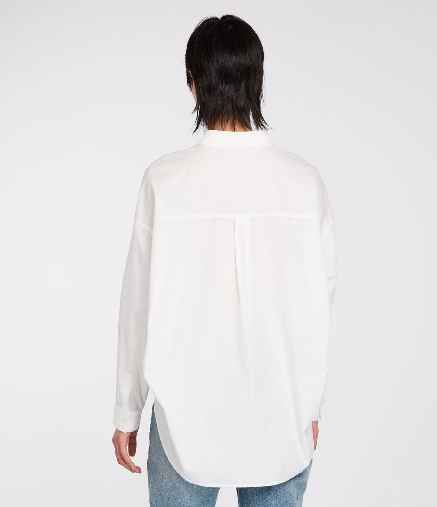 Women's Sada Shirt (chalk_white) - Image 5