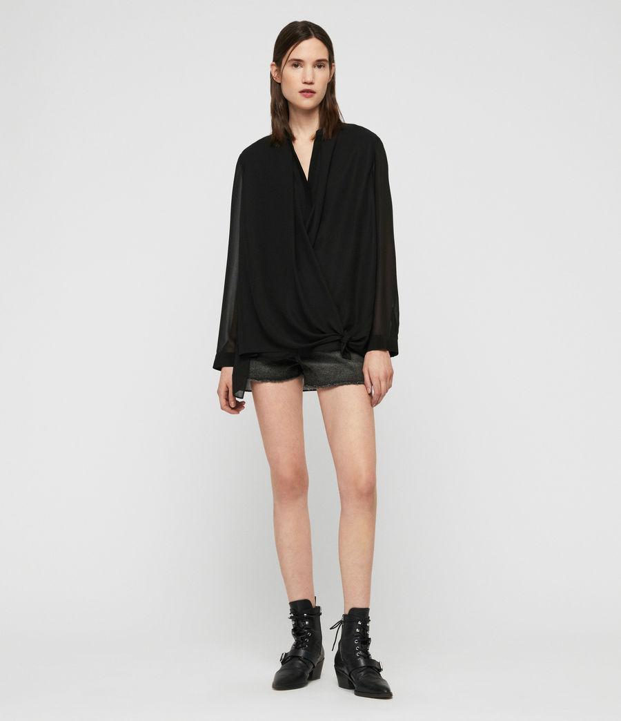 Damen Nova Bluse (black) - Image 3
