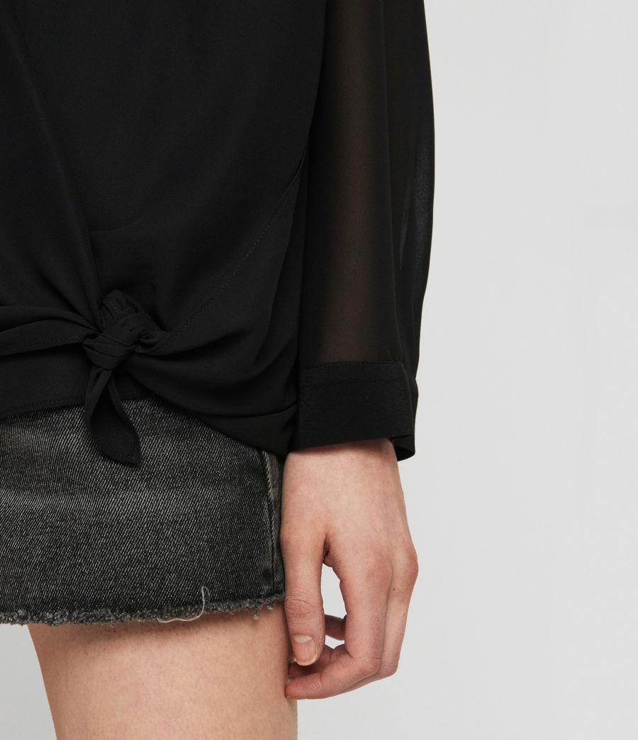 Damen Nova Bluse (black) - Image 5