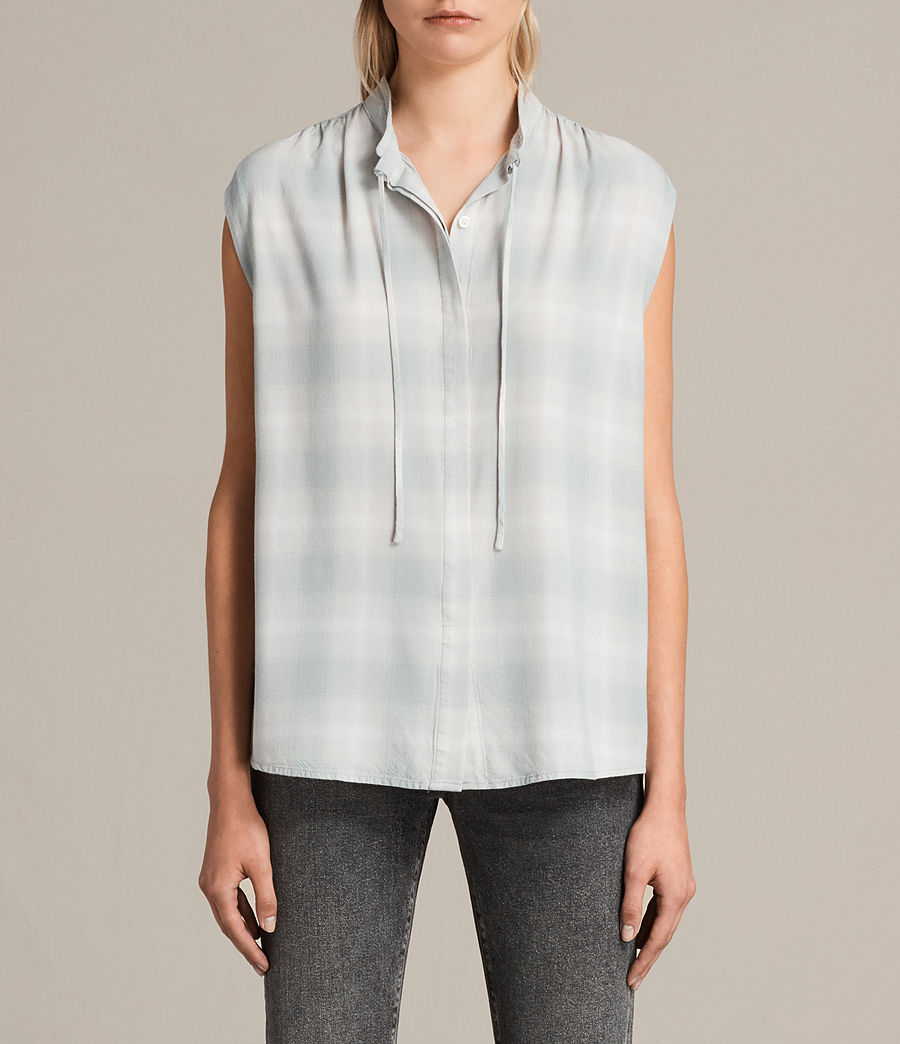 Donne Camicia Raya Check (faded) - Image 1