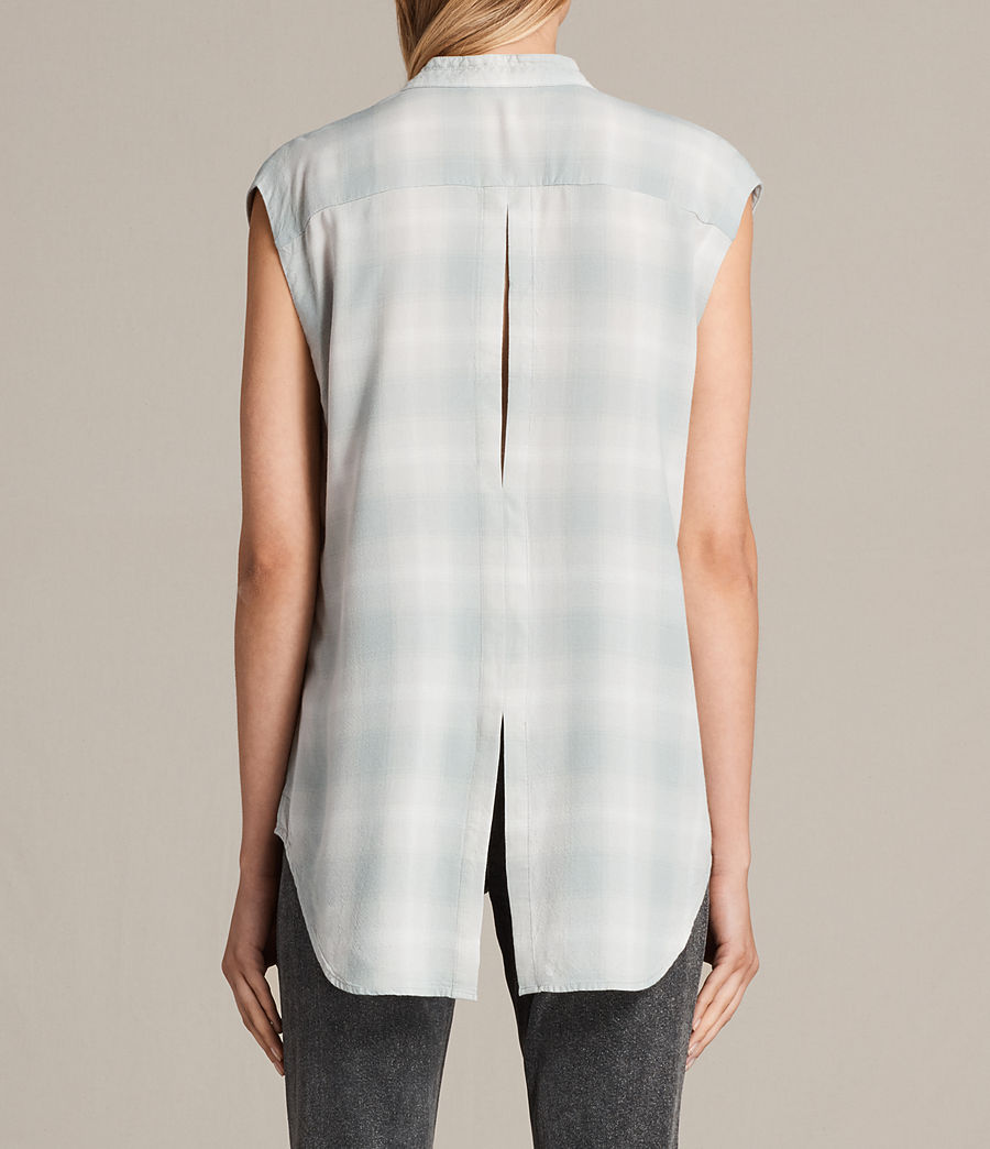 Donne Camicia Raya Check (faded) - Image 3