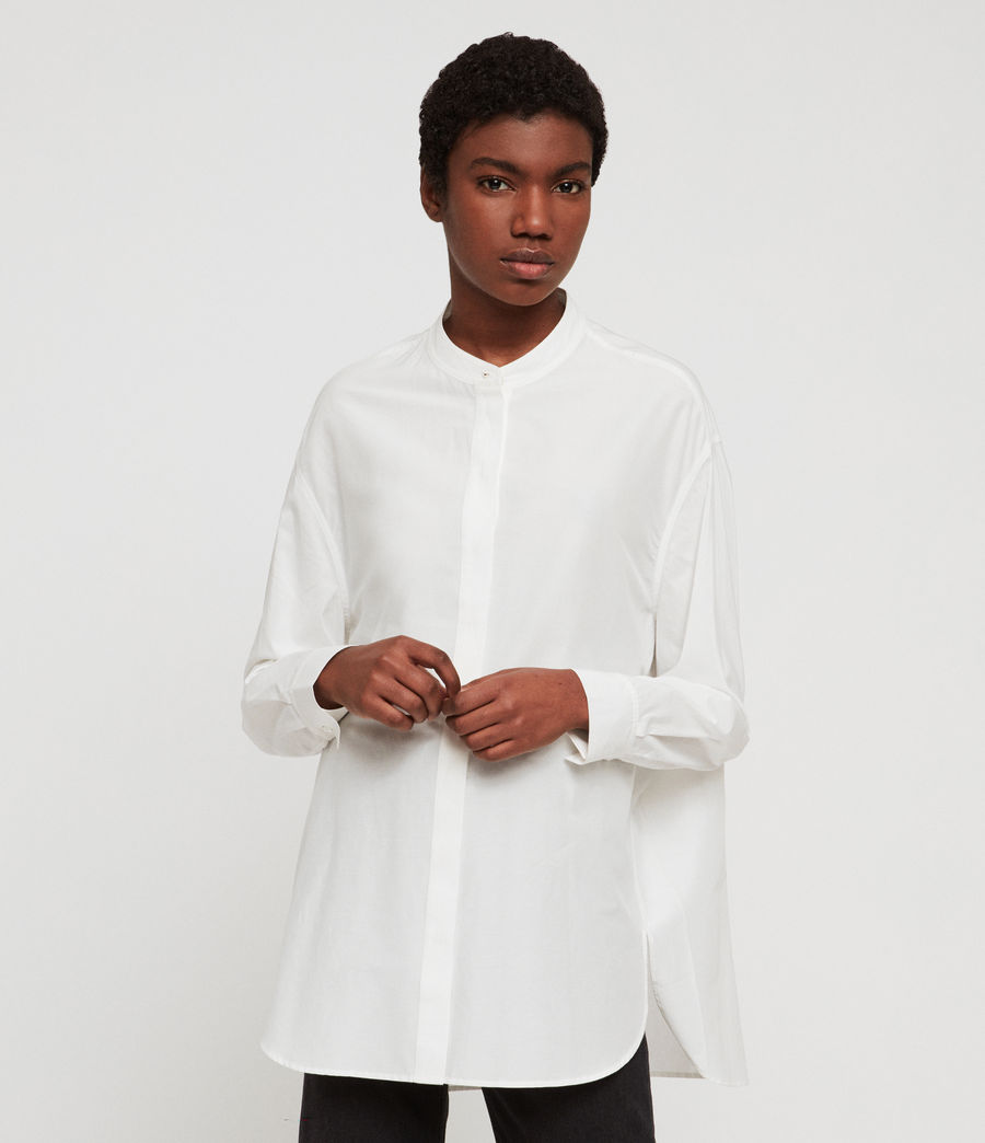 Women's Emi Shirt (chalk_white) - Image 1