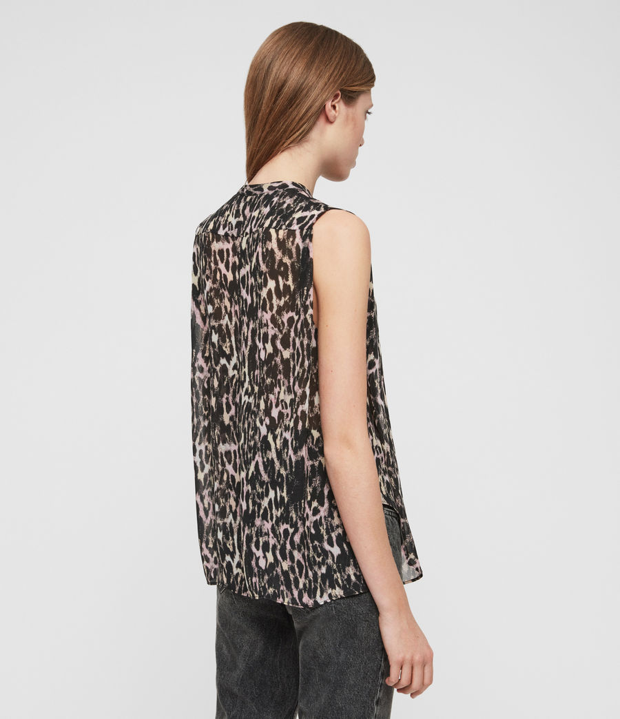 Womens Wing Leopard Shirt (yellow) - Image 4