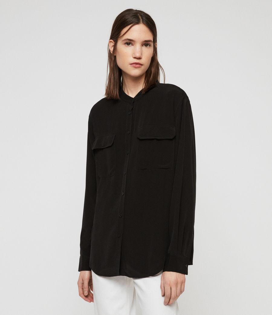 Womens Lexi Shirt (black) - Image 1