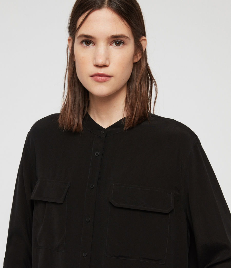 Womens Lexi Shirt (black) - Image 2