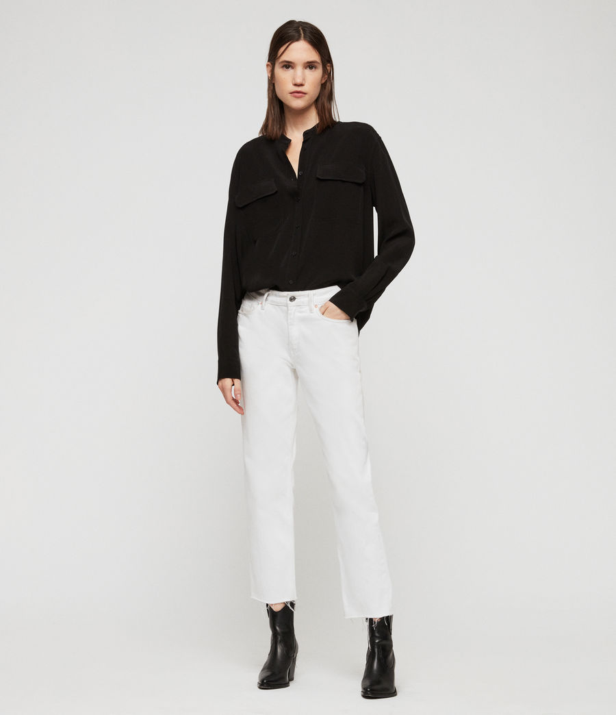 Womens Lexi Shirt (black) - Image 3