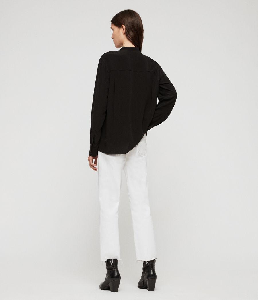 Womens Lexi Shirt (black) - Image 4