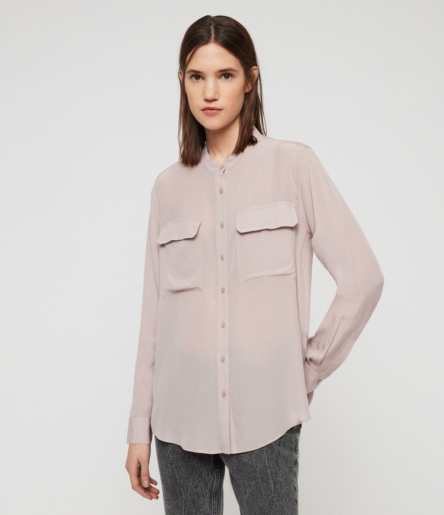 Women's Lexi Shirt (washed_pink) - Image 3