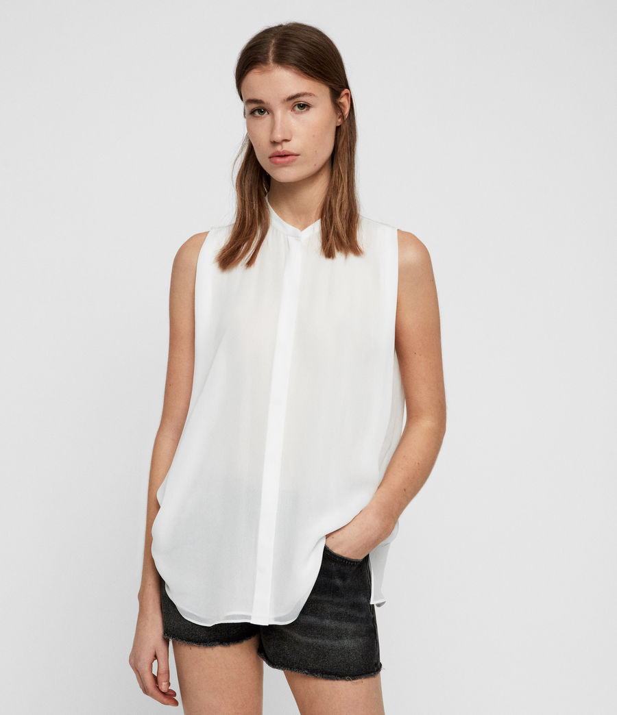 Womens Wing Shirt (chalk_white) - Image 1