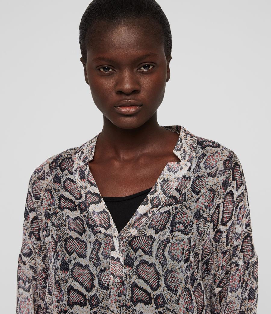 Women's Andia Misra Shirt (white) - Image 2