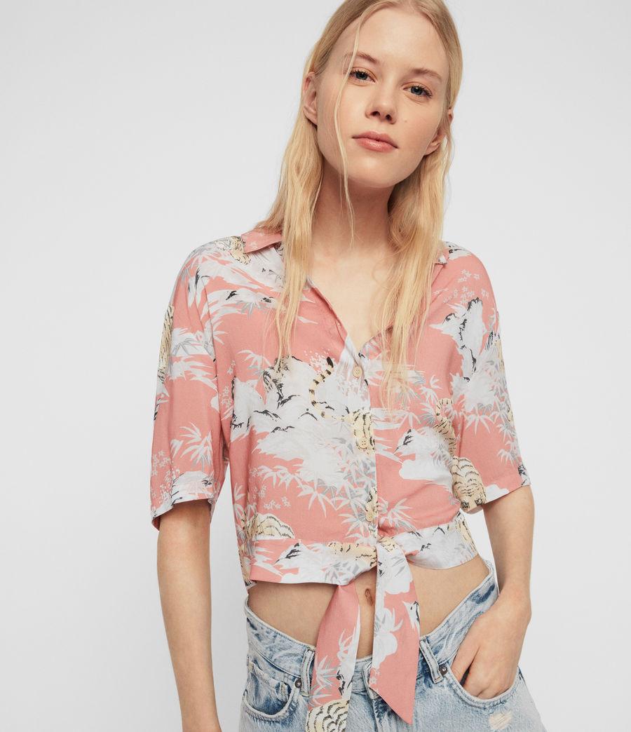 Womens Leni Borneo Shirt (pink) - Image 1