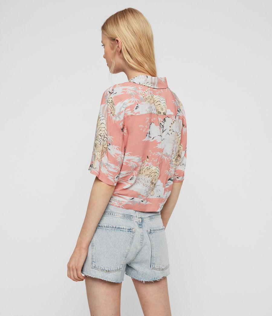 Womens Leni Borneo Shirt (pink) - Image 5