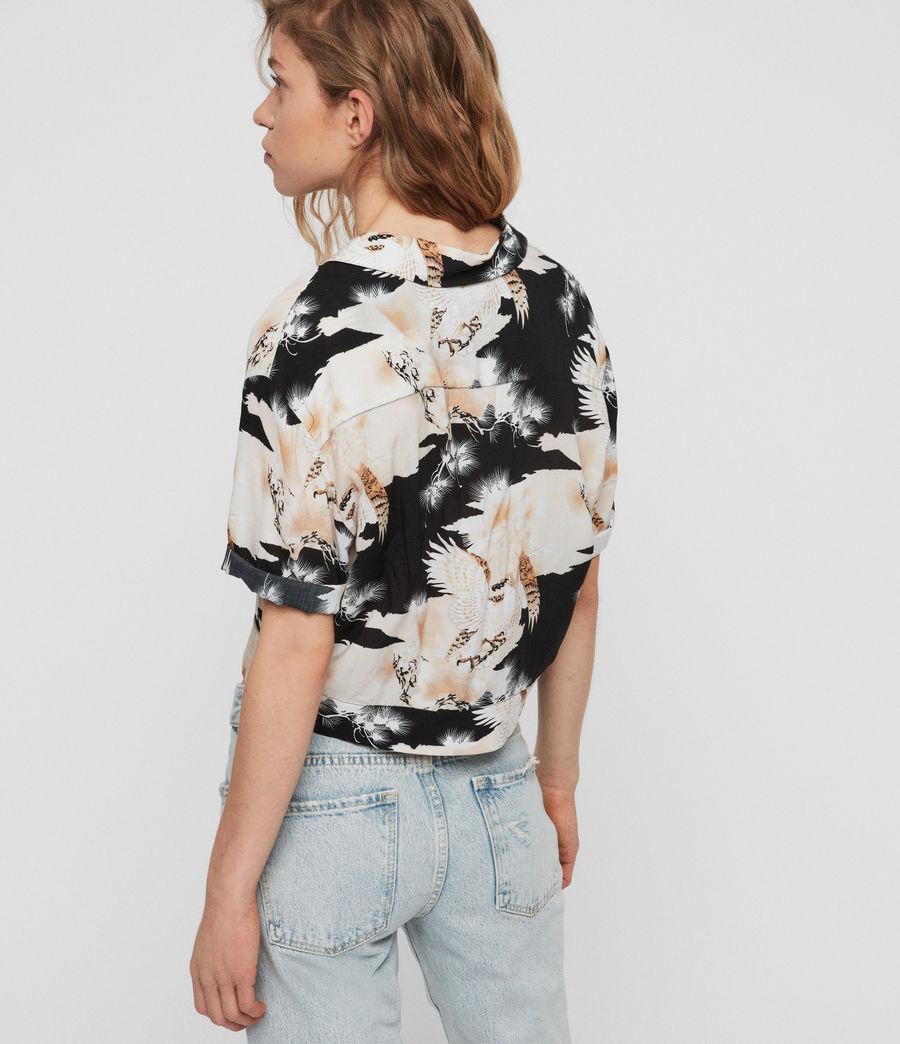 Womens Leni Talon Shirt (black) - Image 5