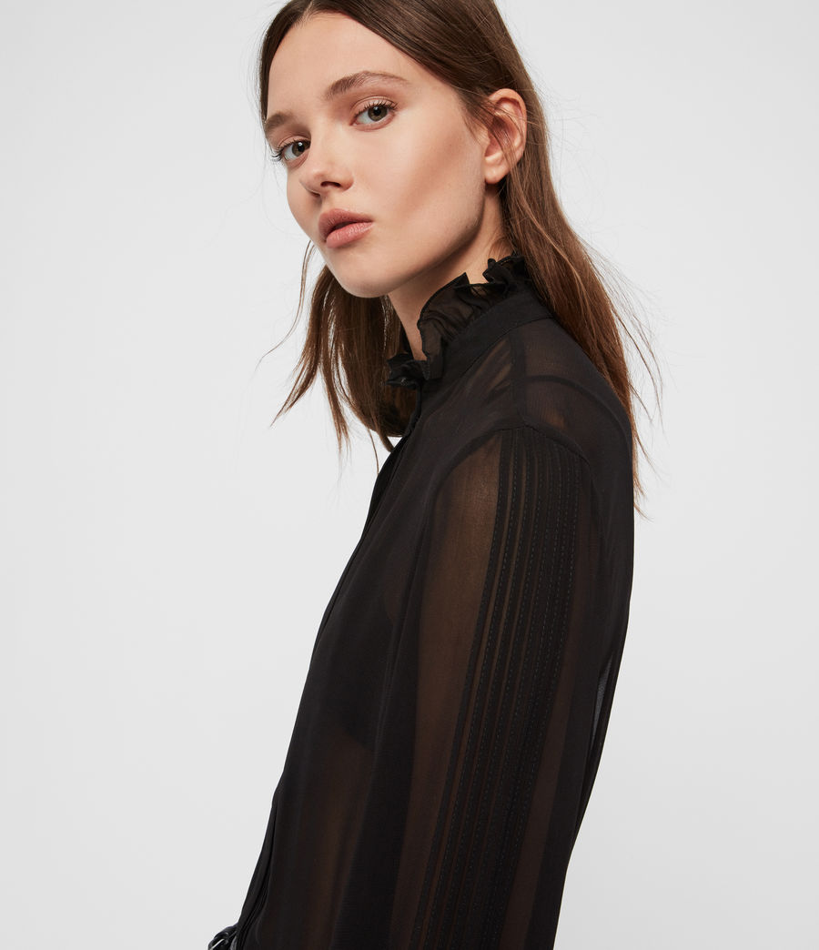 Women's Louise Shirt (black) - Image 2