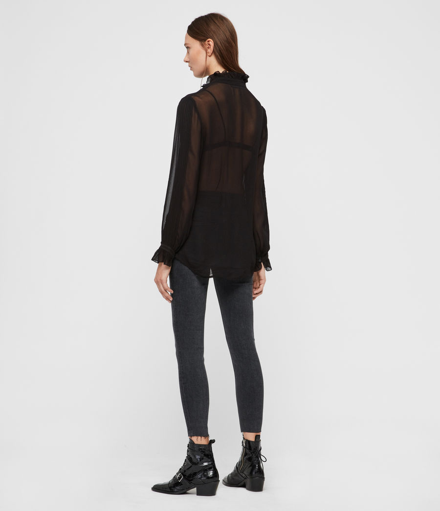 Damen Louise Hemd (black) - Image 5