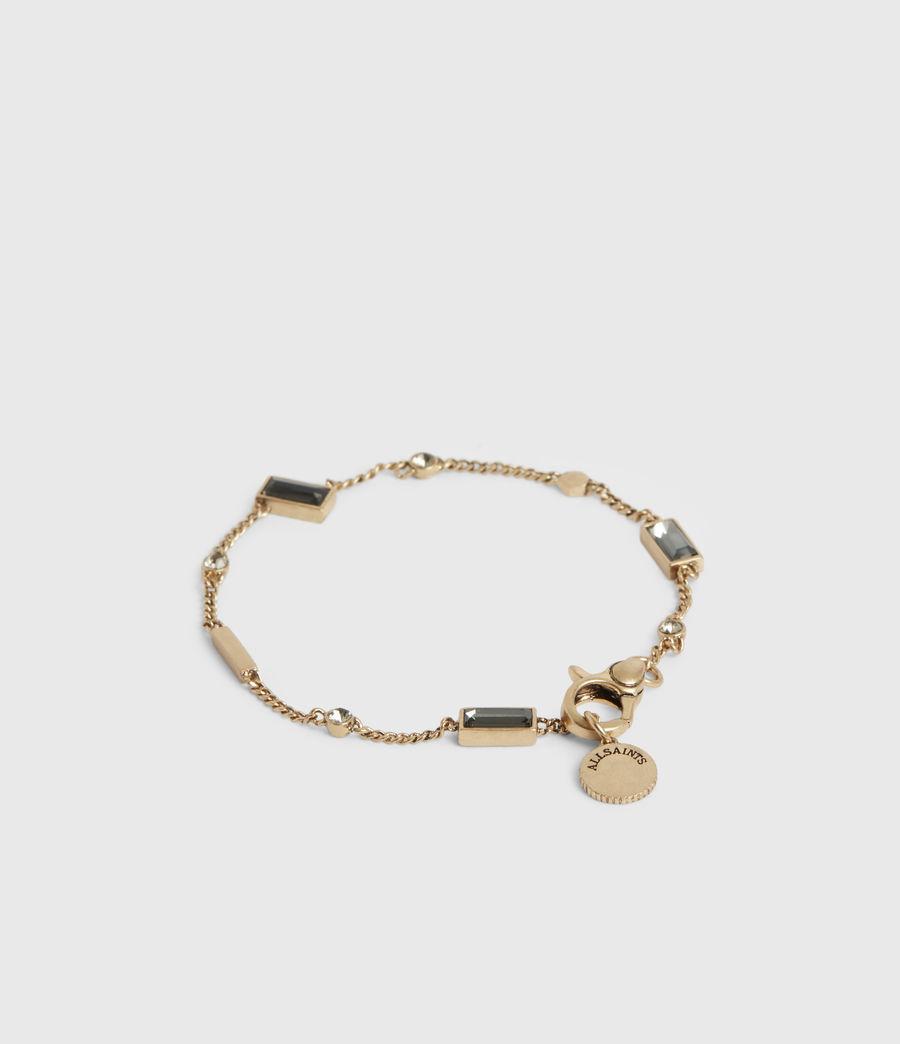 Womens Ida Gold-Tone Bracelet (warm_brass) - Image 4