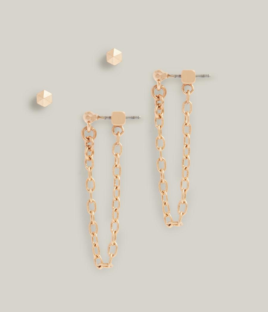 Women's Halona Earring Set (warm_brass) - Image 3