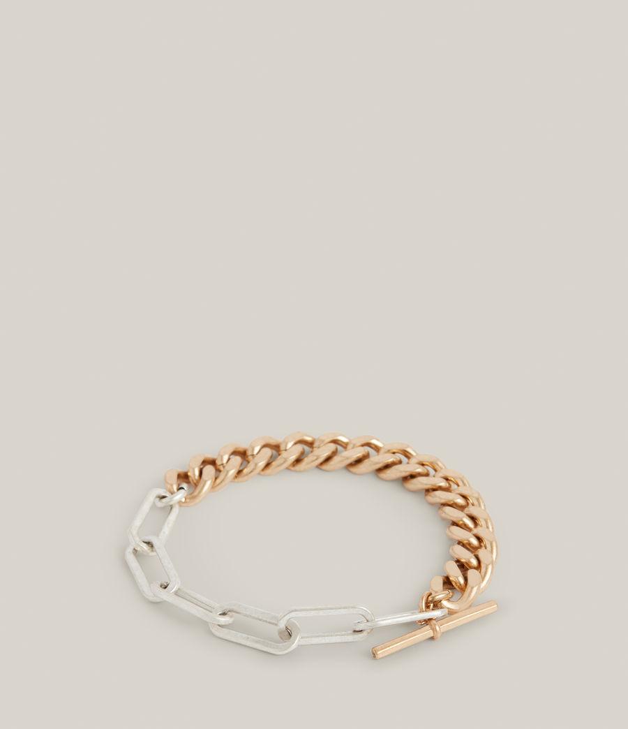 Women's Eliana Bracelet (warm_brass_silver) - Image 1
