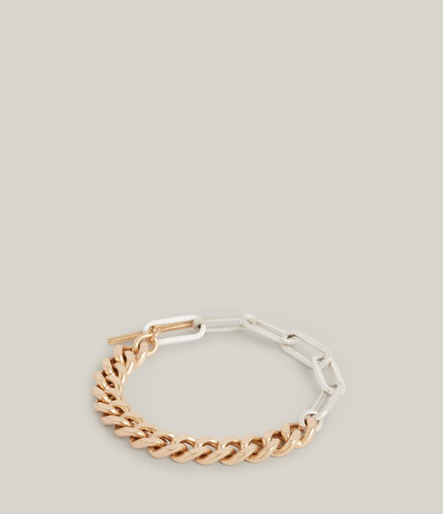 Women's Eliana Bracelet (warm_brass_silver) - Image 5