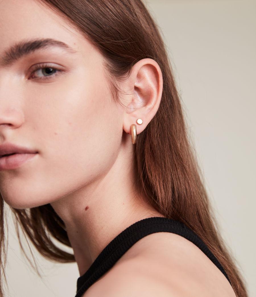 Women's Iria Stud Earrings (warm_brass) - Image 1