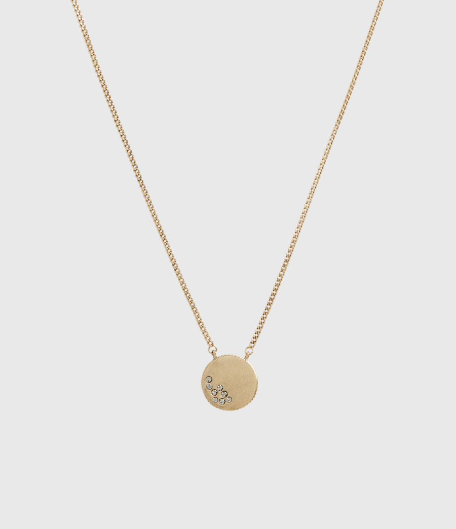 Womens Astrid Gold-Tone Necklace (warm_brass) - Image 1