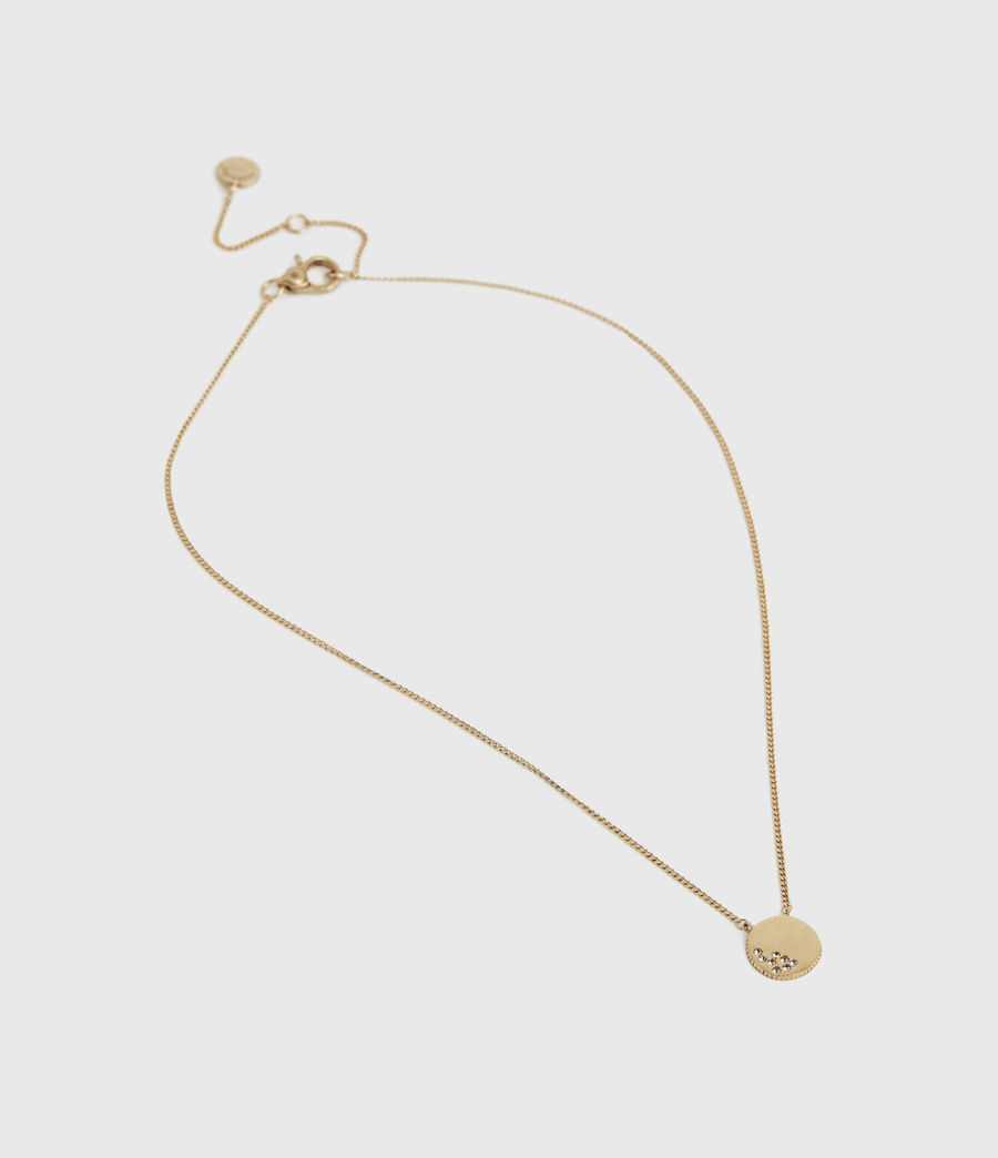 Womens Astrid Gold-Tone Necklace (warm_brass) - Image 2