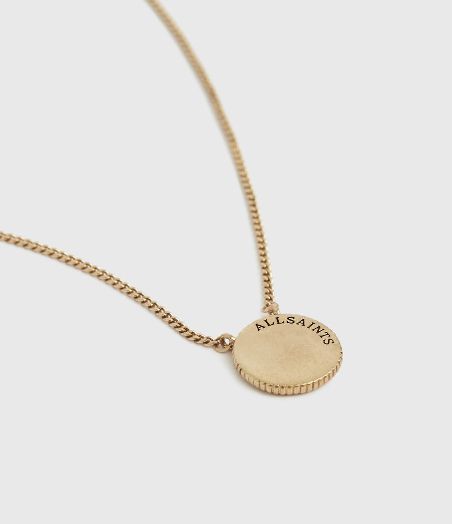 Womens Astrid Gold-Tone Necklace (warm_brass) - Image 3