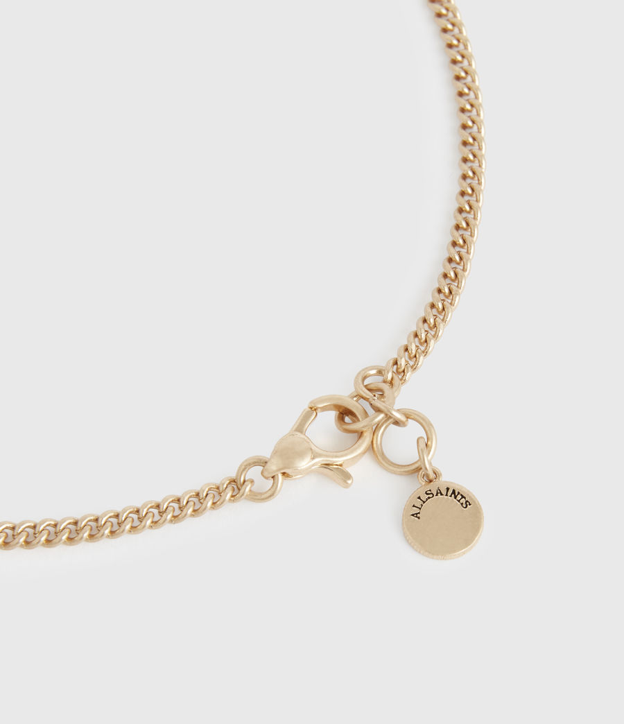 Women's Delicay Gold-Tone Necklace (warm_brass) - Image 5