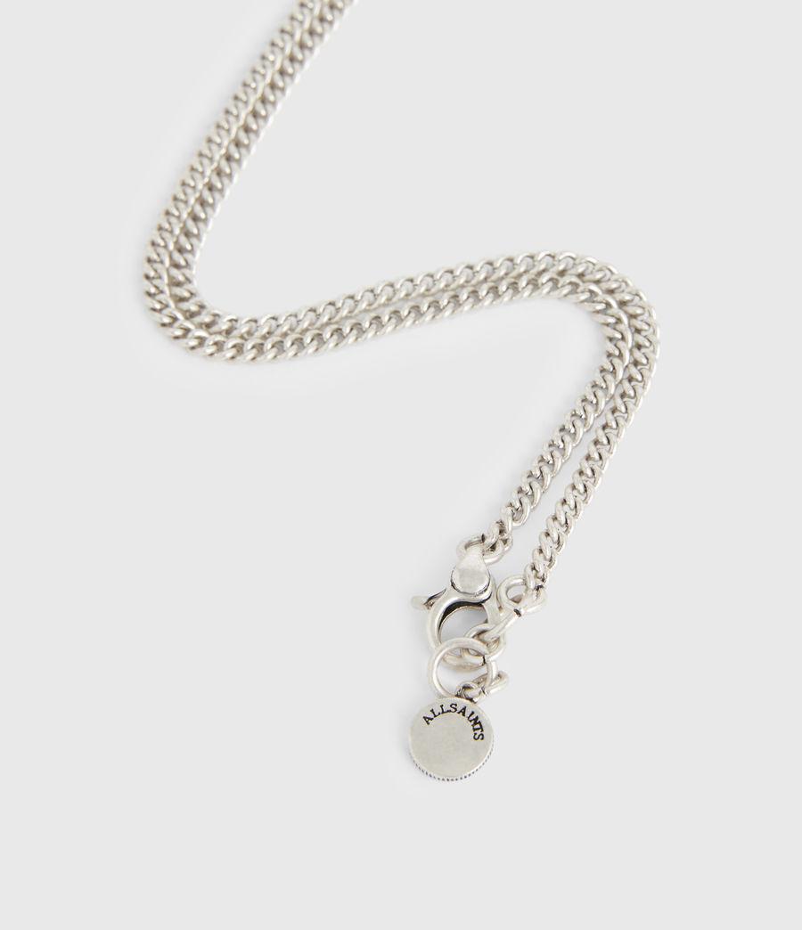 Women's Delicay Silver-Tone Necklace (warm_silver) - Image 5