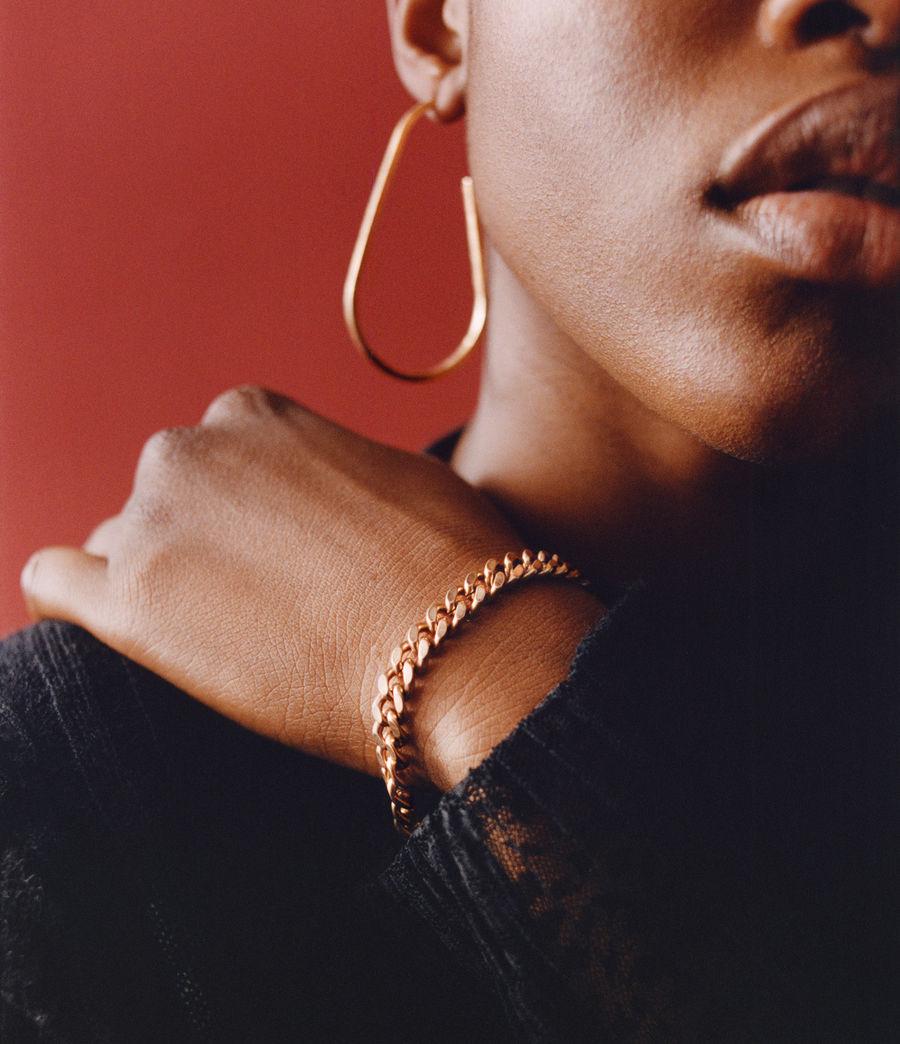 Women's Lila Gold-Tone Chain Bracelet (warm_brass) - Image 2