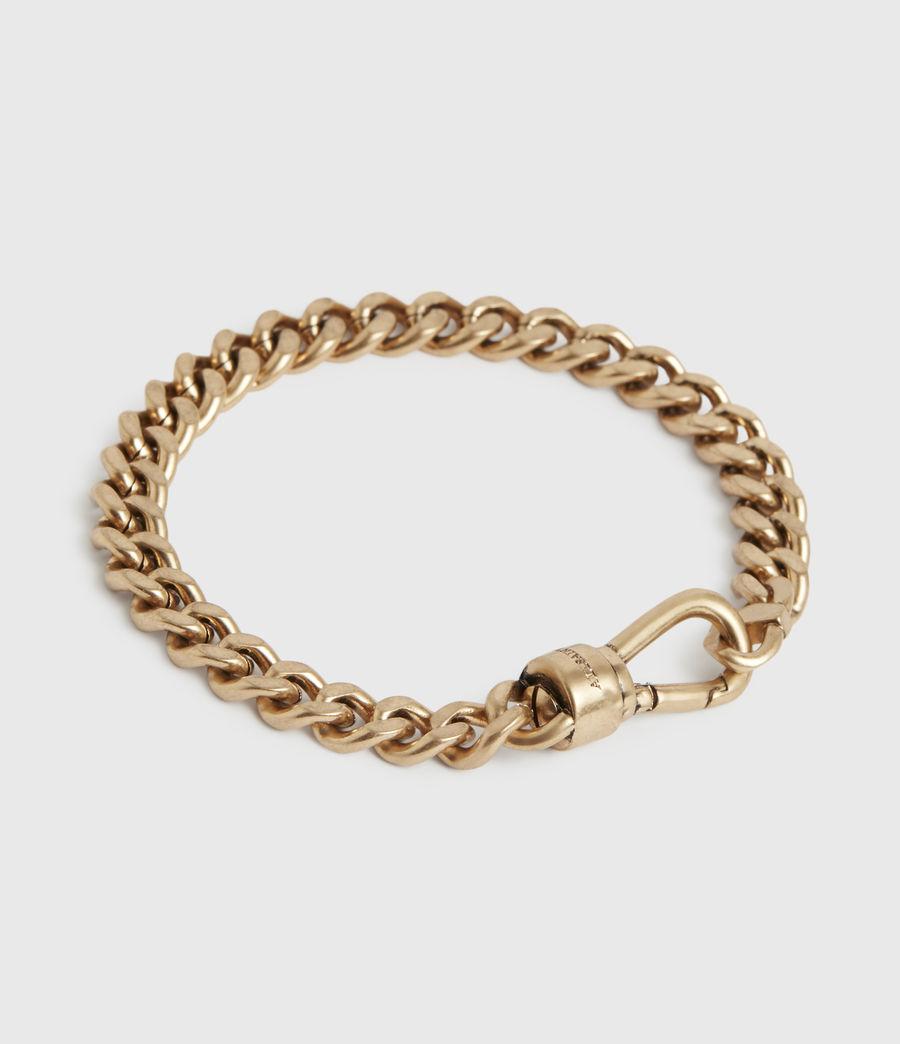 Women's Lila Gold-Tone Chain Bracelet (warm_brass) - Image 5