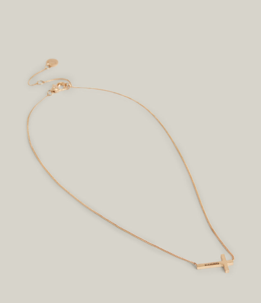 Women's Felicity Necklace (warm_brass) - Image 2