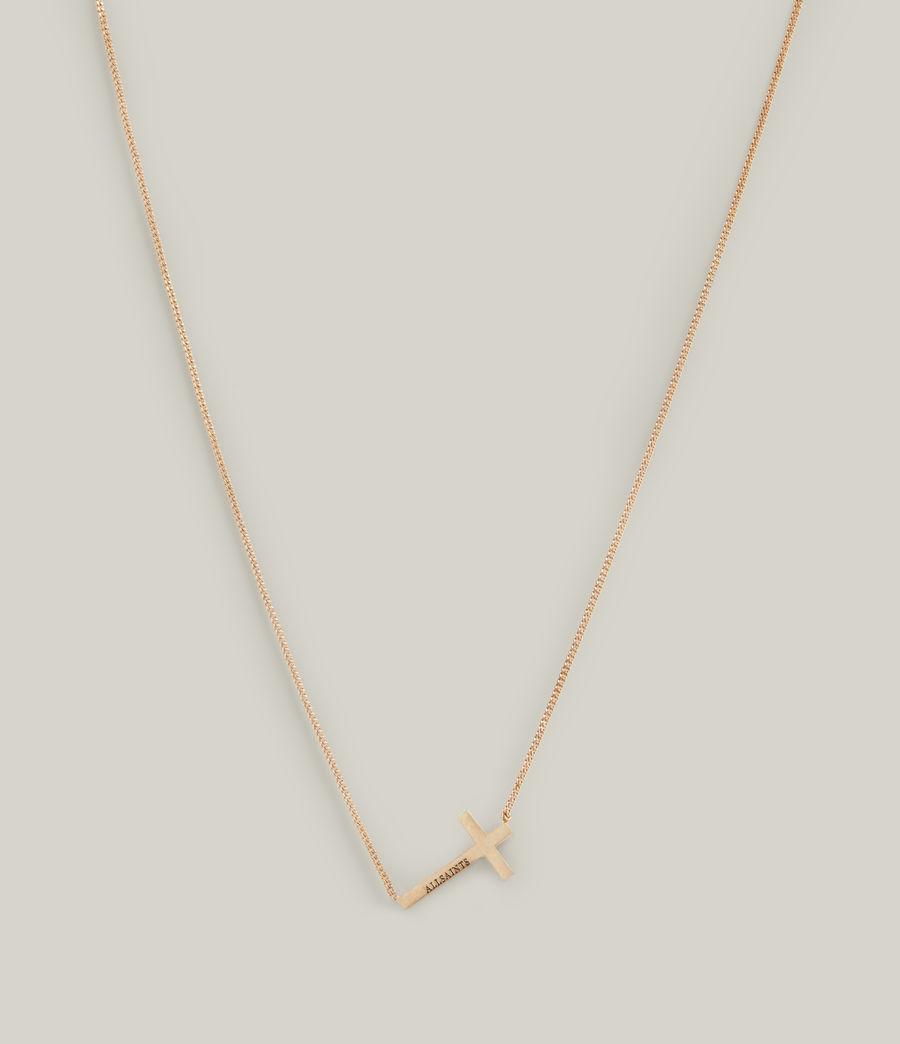 Women's Felicity Necklace (warm_brass) - Image 3