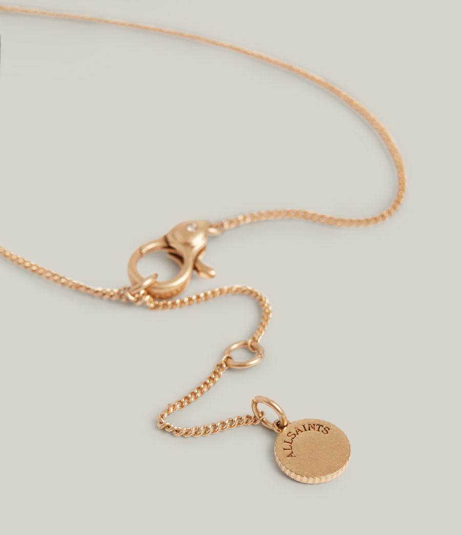 Women's Felicity Necklace (warm_brass) - Image 4