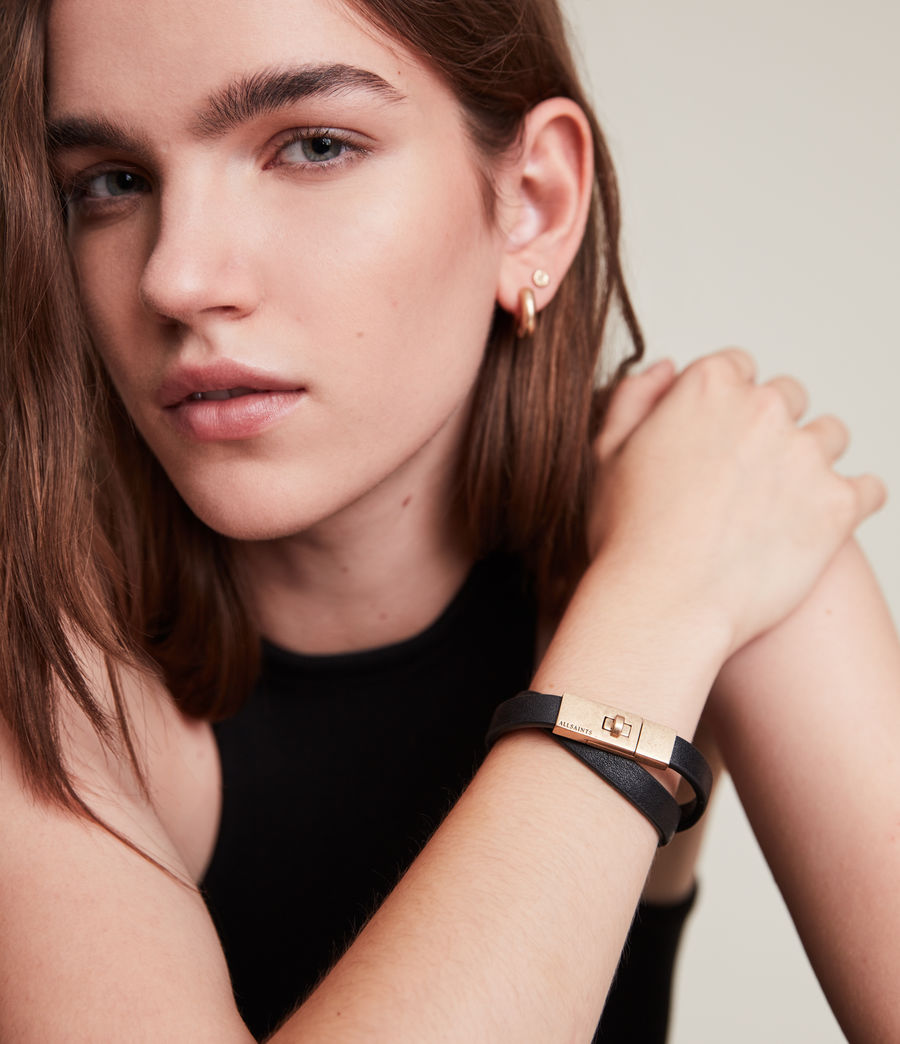 Damen Zuella Bracelet (black_warm_brass) - Image 1