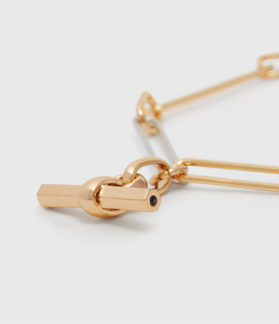 Womens June Two-Tone Bracelet (gold) - Image 1