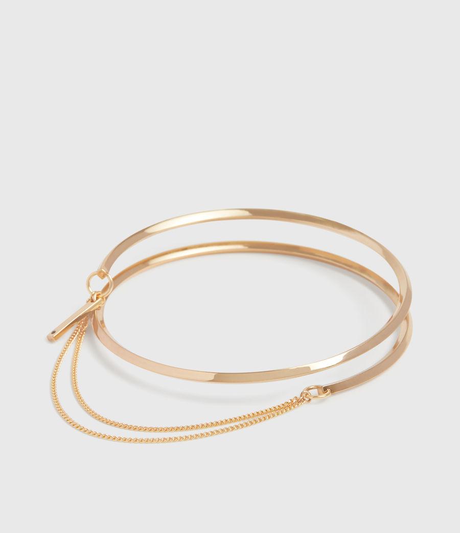 Womens Bree Gold Tone Bracelet (gold) - Image 2