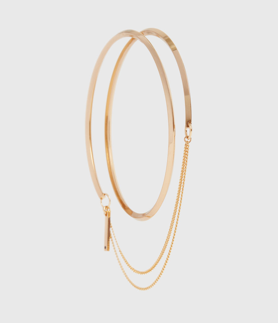 Women's Bree Gold Tone Bracelet (gold) - Image 3