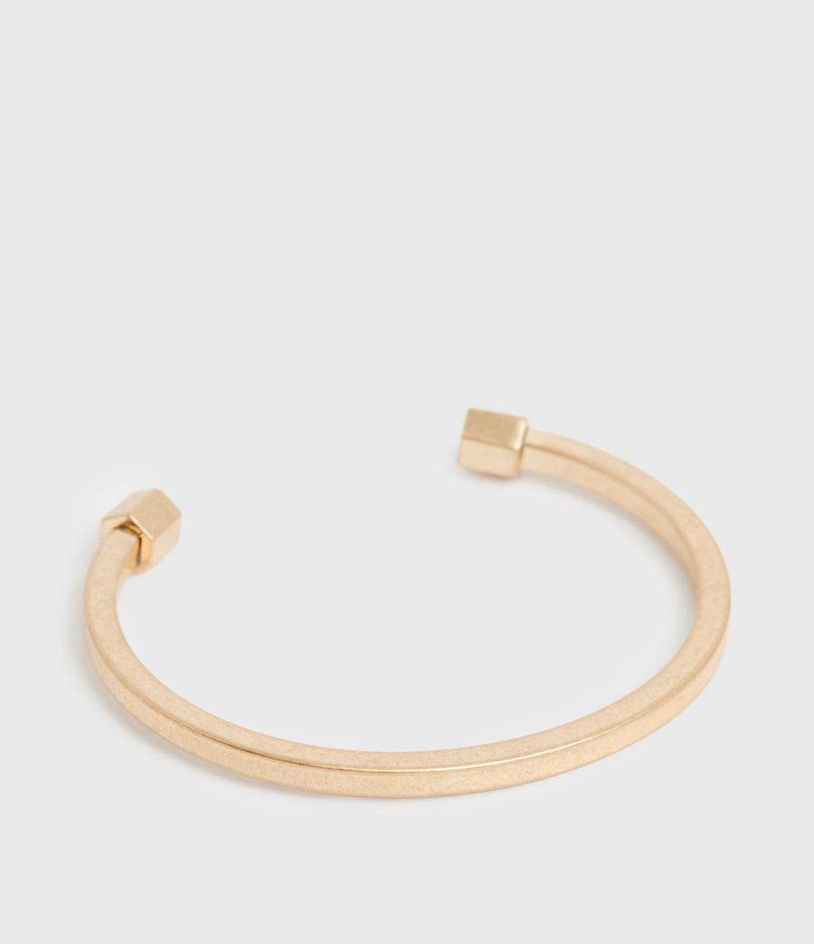 Women's Garia Gold-Tone Cuff (warm_brass) - Image 3