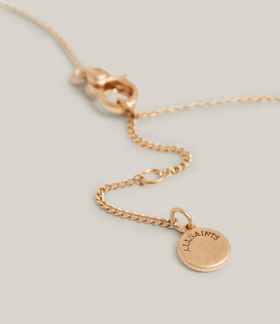 Damen Aiko Pendant Necklace (warm_brass) - Image 5