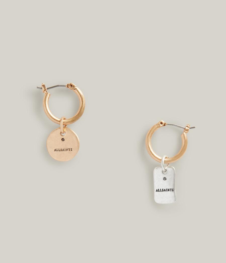 Women's Ilah Earrings (warm_brass_silver) - Image 1