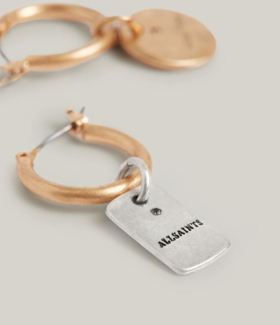 Women's Ilah Earrings (warm_brass_silver) - Image 2